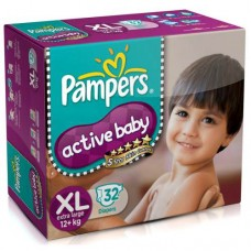 PAMPERS XL FOR 12+KG