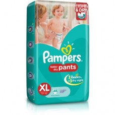 PAMPERS PANTS XL FOR 12+KG