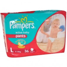 PAMPERS L FOR  9-14KG