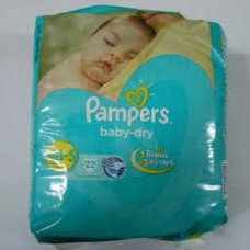 PAMPERS NB-S BABY DRY UP TO 8KG